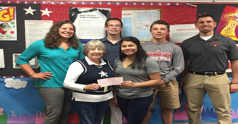 WSOI Clay for Cancer Donates to Cancer Association of Marshall County