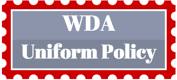 Logo of WDA Uniform Policy