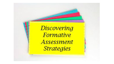 Discovering Formative Assessment Strategies