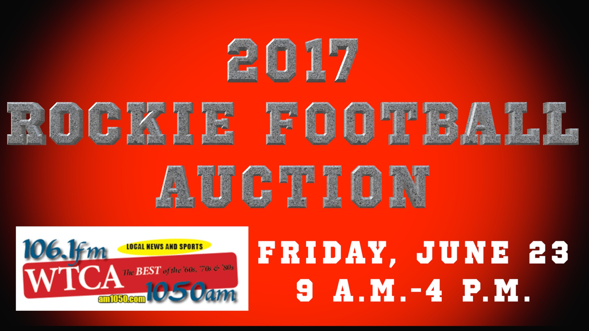 Rockies Football Auction