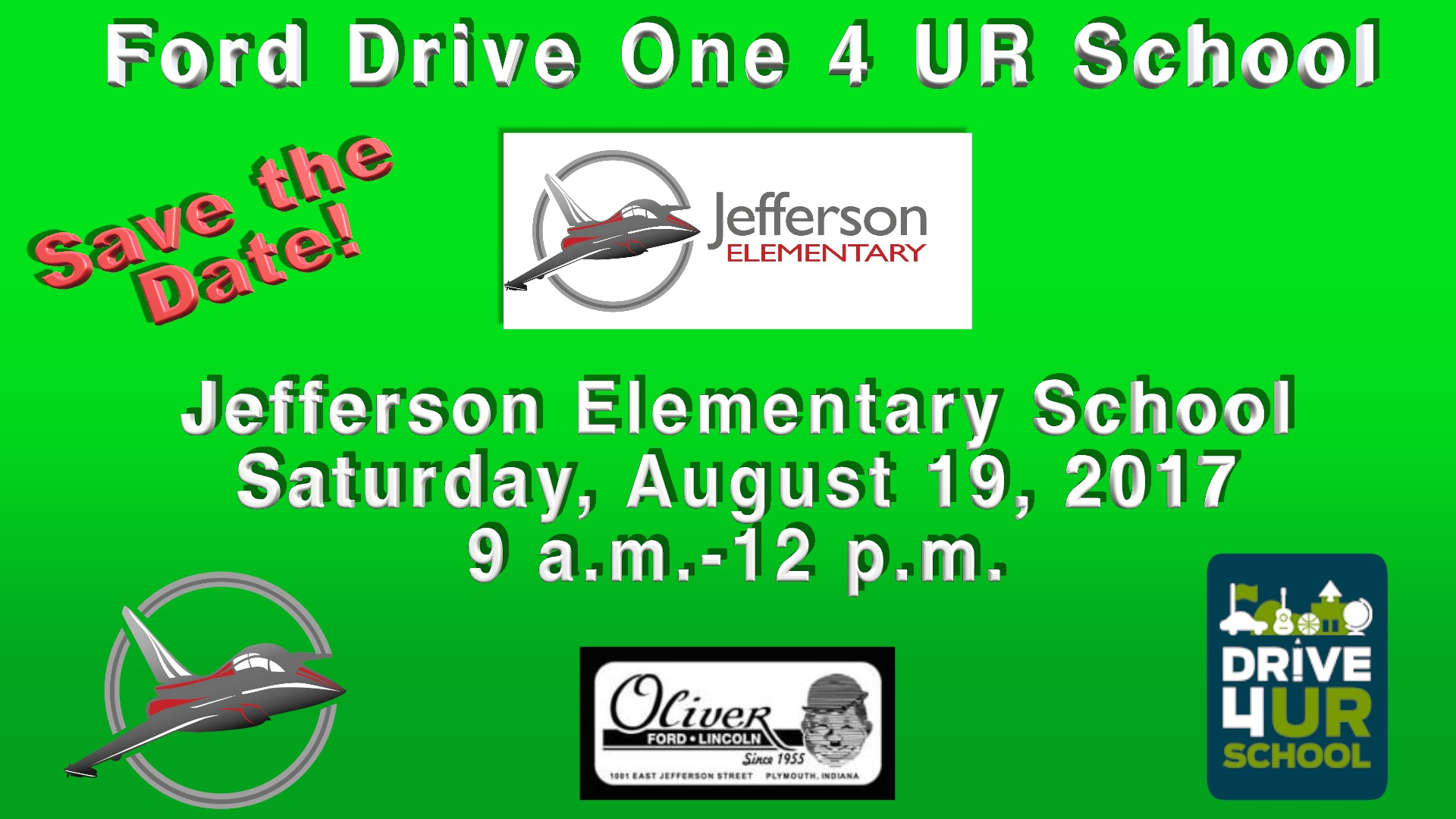 Ford Drive 4 UR School Information