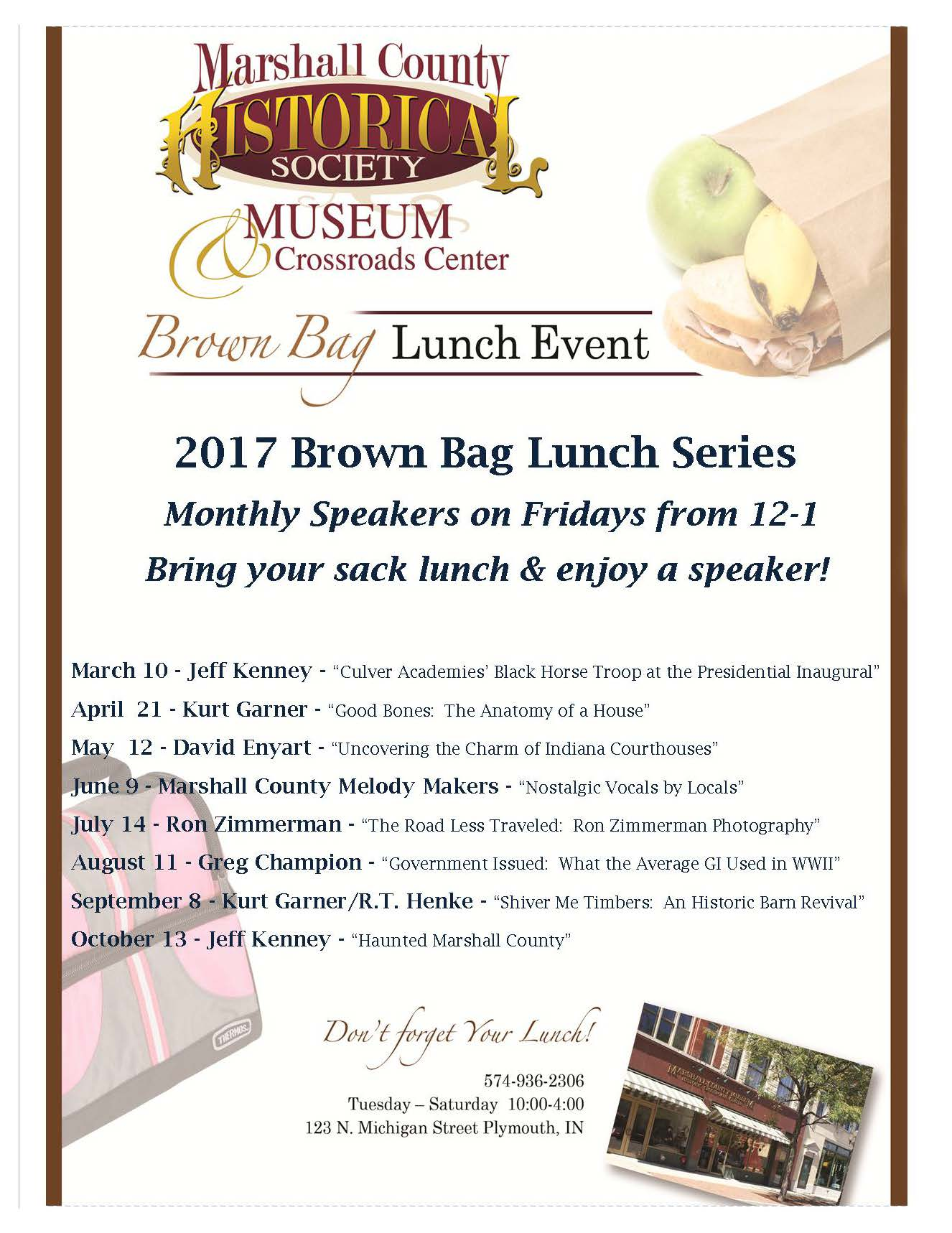 2017 Brown Bag Series