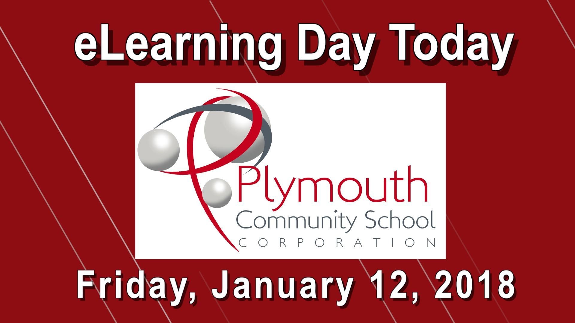 eLearning Day on Friday, January 12, 2018