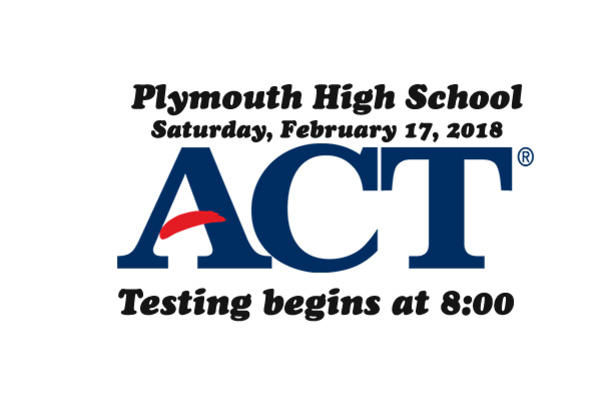 ACT Testing on February 17, 2018