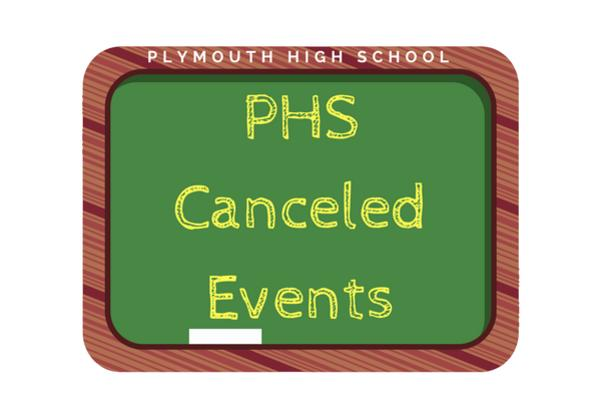 Saturday PHS Home Sporting Events Canceled