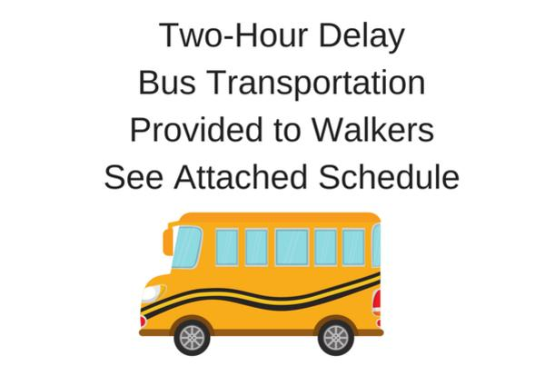 Two-Delay for Tuesday, February 27 with Special