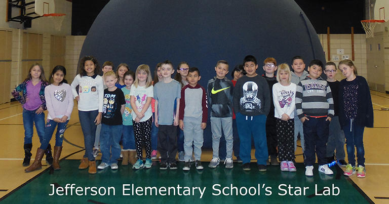 Jefferson Elementary School's Star Lab