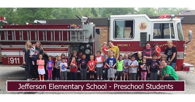 Jefferson Elementary School - Preschool Students