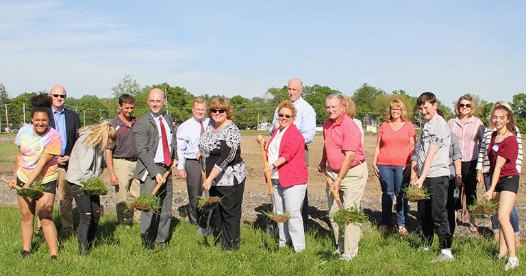 Lincoln Junior High School Groundbreaking Ceremony