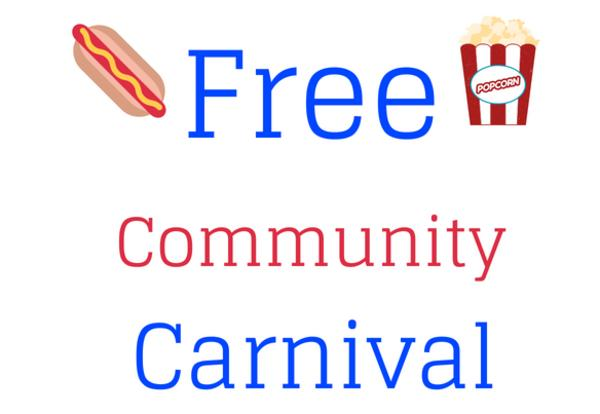 free community carnival about the district