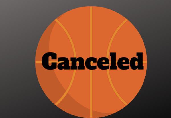 Canceled on basketball image