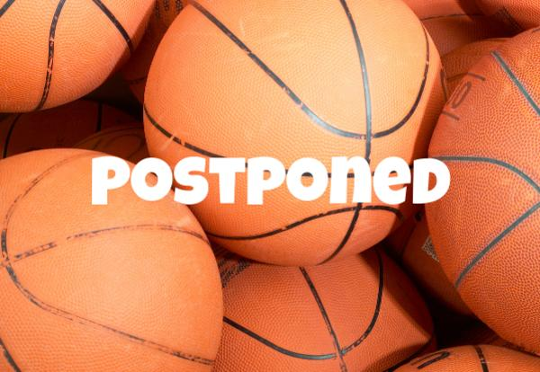 basketball images with postponed