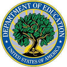 Department of Education United States of America logo with tree