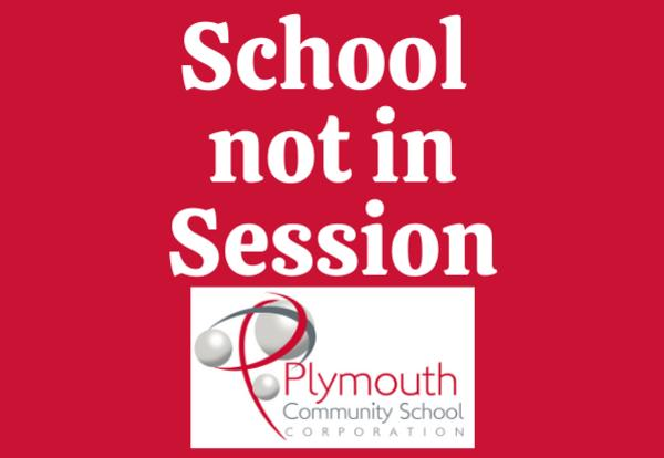 School not in Session with PCSC logo