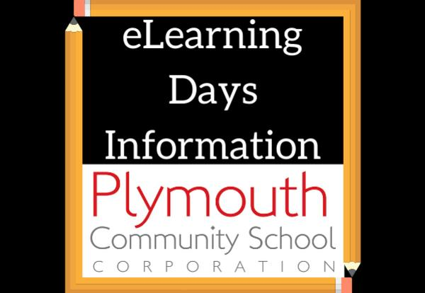 eLearning Days Information with PCSC logo and pencil images