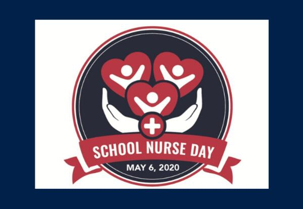 School Nurse Day May 6, 2020 logo