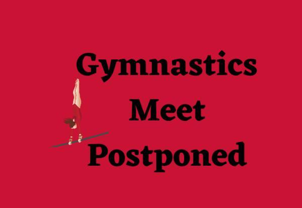 Gymnastics Meet Postponed with gymnast image