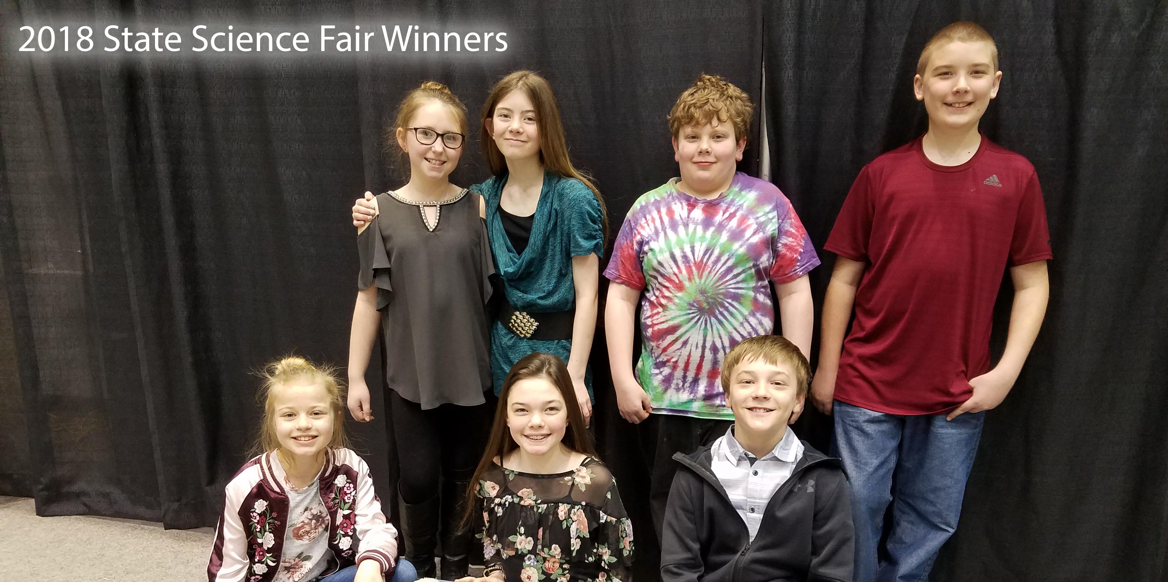 Picture of Butte School District Science Fair Winners 2018