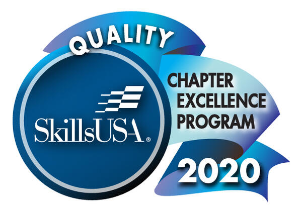 Butte High School CTE Recognized as a 2020 QUALITY Chapter.