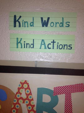 Kind Word Kind Actions Picture