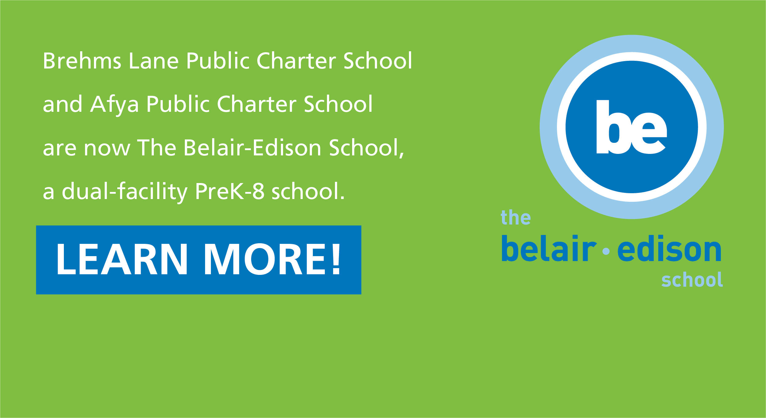 Learn more about the Afya and Brehms merger as The Belair-Edison School!