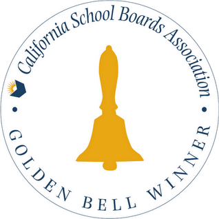 California School Boards Association Golden Bell Winner Logo