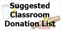 Suggested Classroom Donation List - open PDF