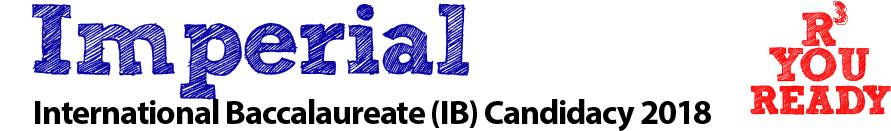imperial international baccalaureate candidacy 2018