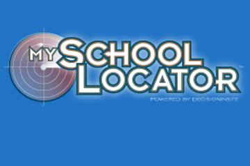 school locator button