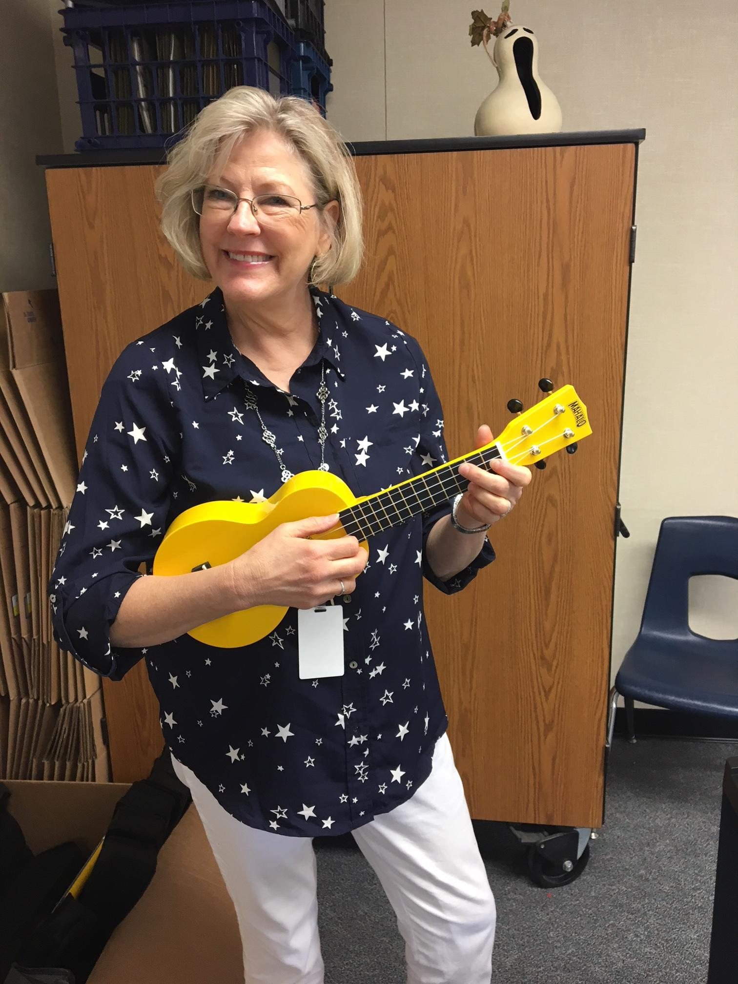 Mrs. Olson's Ukulele Club