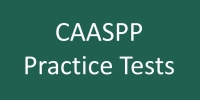 CAASPP Practice Tests notice