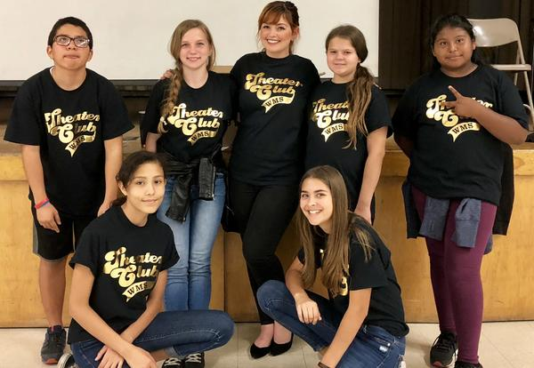 Washington Middle School receives recognition from the American Theatre Wing