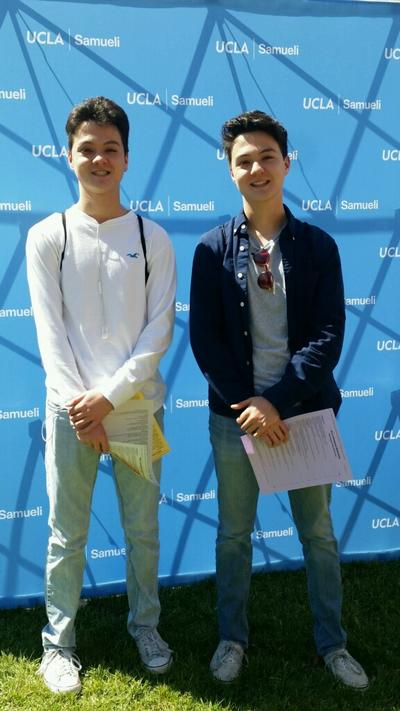 Washington Middle School Alumni accepted at UCLA. We are proud of our Patriot alumni!