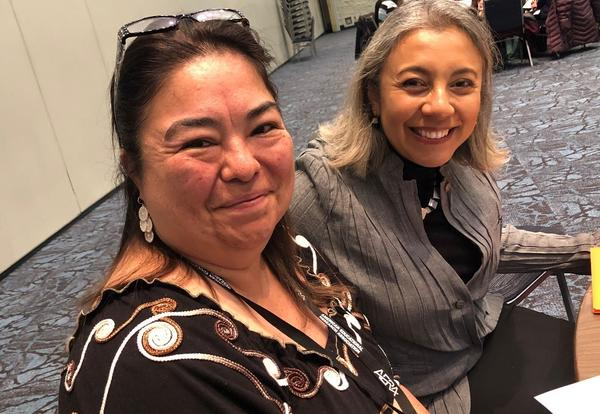 Dr. Rosa Murillo Principal at Ladera Palma Dual Immersion Program Presents at AERA (American Educational Research Association) in Toronto, Canada