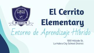 El Cerrito Elementary Hybrid Learning Setting - Spanish