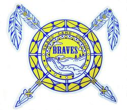 Grass Lake School Braves Logo