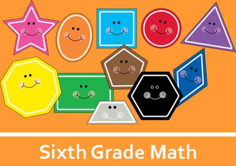 Sixth Grade Math Logo