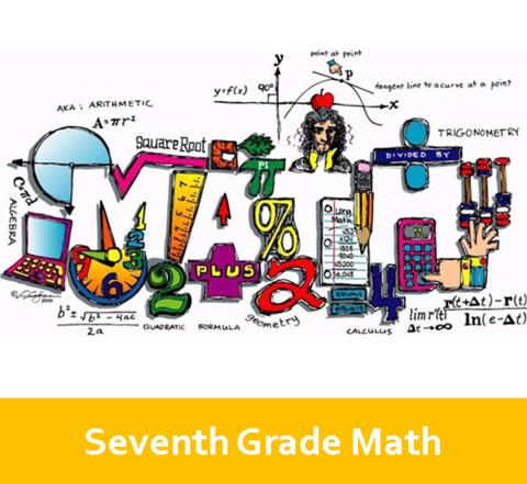 Seventh Grade Math Logo