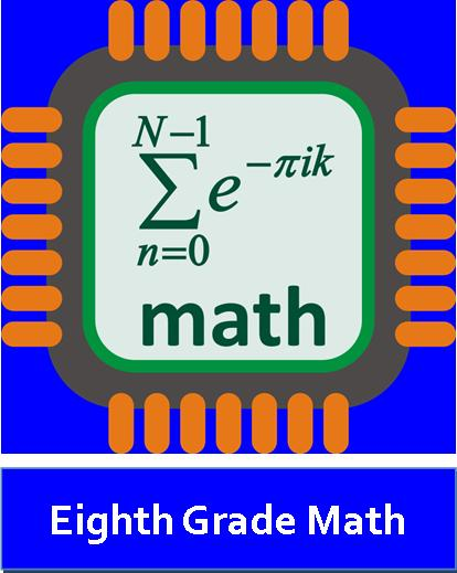 Eighth Grade Math Logo