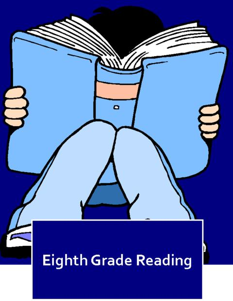 Eighth Grade Reading Logo