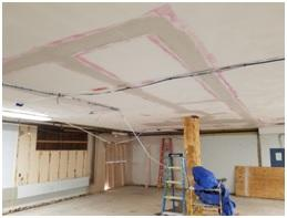ceiling renovation picture