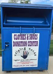 Clothes Donation Bin