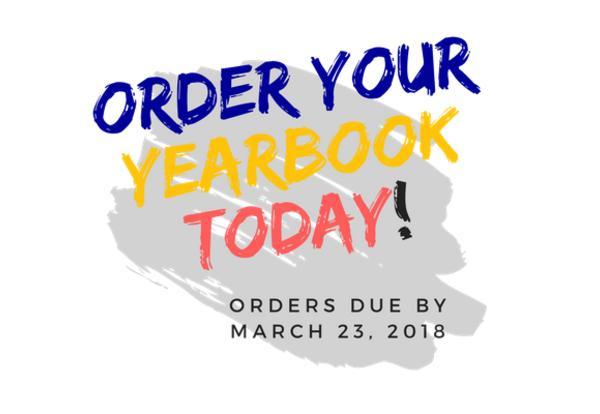 2017-2018 Yearbook Order Information