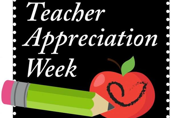 Teacher Appreciation Week is May 7-11
