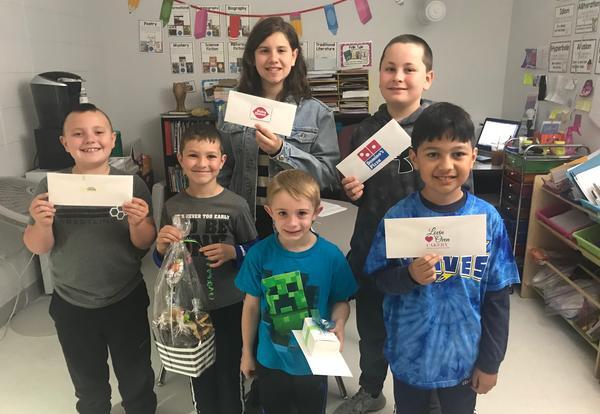 Math Awareness Activities Winners!
