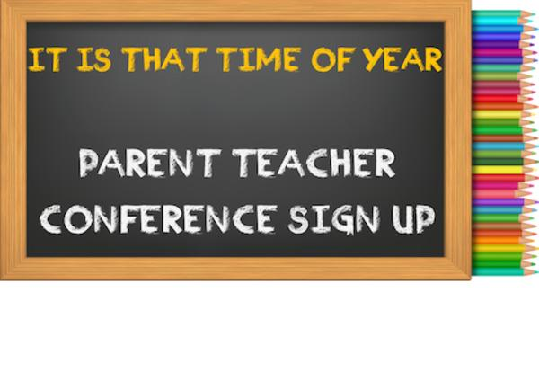 Parent Teacher Conferences RESERVE YOUR SPOT TODAY