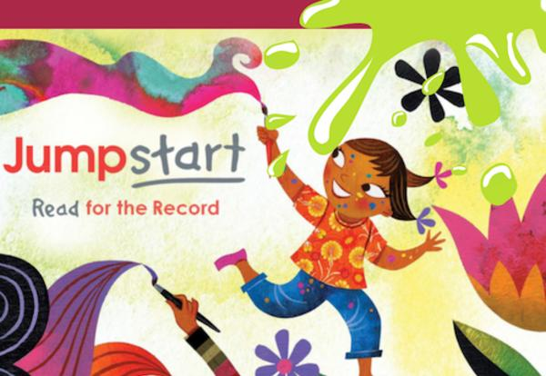 GLS Participates in JumpStarts Read for the Record Event!