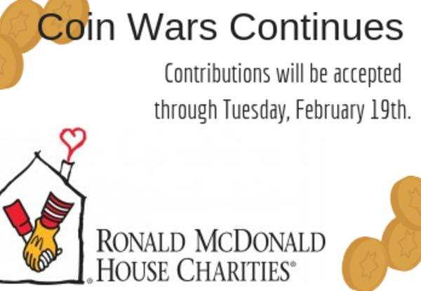 Coin Wars for Ronald McDonald House