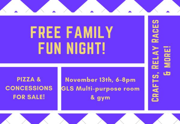 Free Family Fun Night