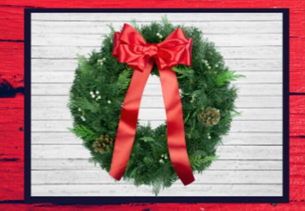 Holiday Balsam Wreath